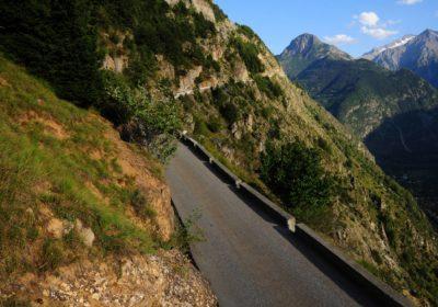 La route d'Auris en vélo électrique