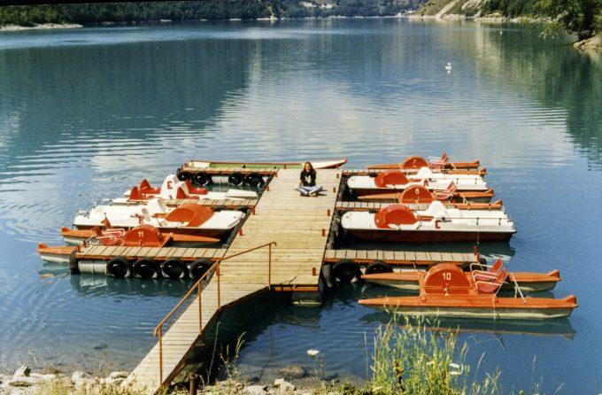 La base nautique du Lac du Chambon
