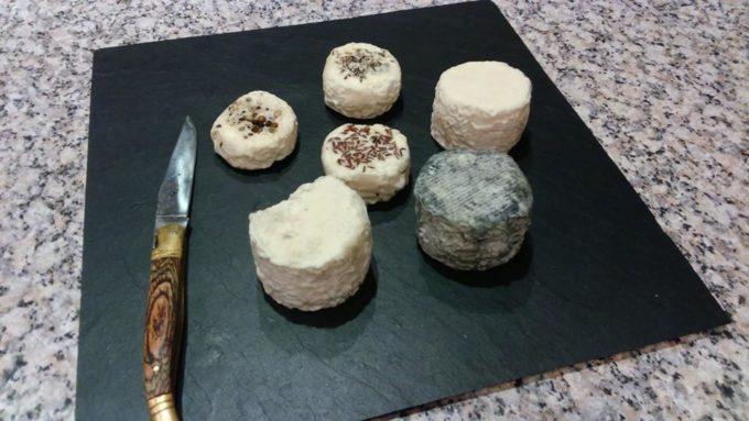 Les fromages de chèvre proposés à la vente