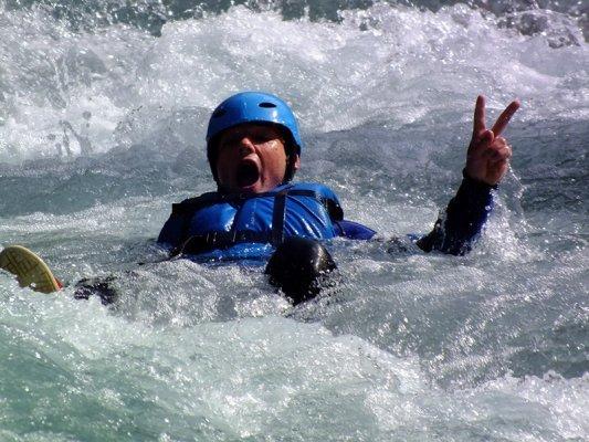 Le rafting c'est trop cool !