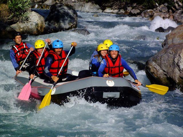 No limit rafting – Activités d'eaux vives – La Grave