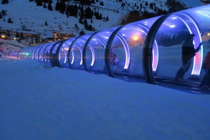 Tunnel auris show