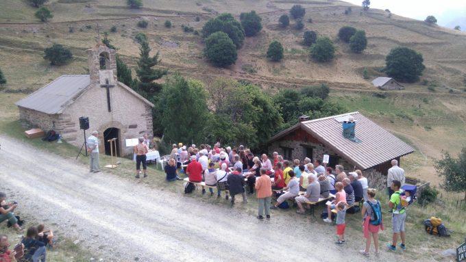 Benediction des troupeaux Cluy