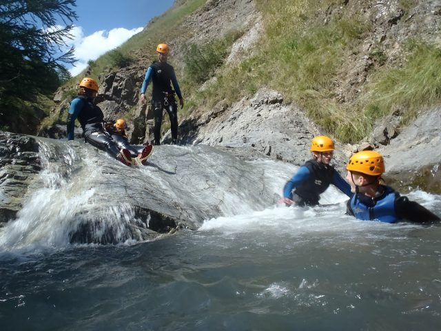 Canyoning Le Gâ